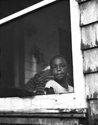 Boy on Screened Porch - Baltimore 1958